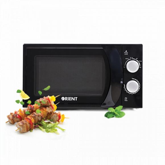Orient 20L Solo Type Microwave Oven MINT 20M Black - Karachi Only