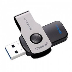 Kingston 64GB DataTraveler SWIVL USB 3.0 Flash Memory Stick Drive DTSWIVL/64GB