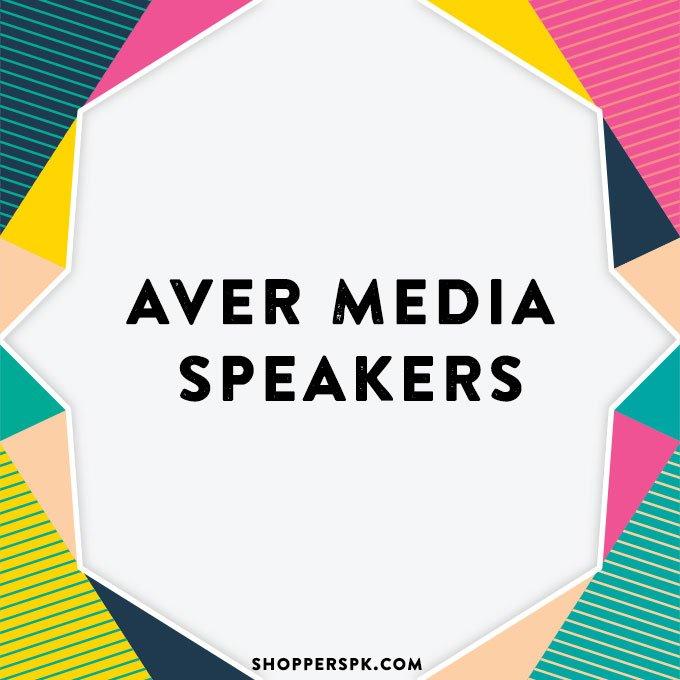 Aver Media Speakers in Pakistan