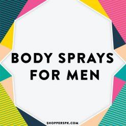 Body Sprays for Men