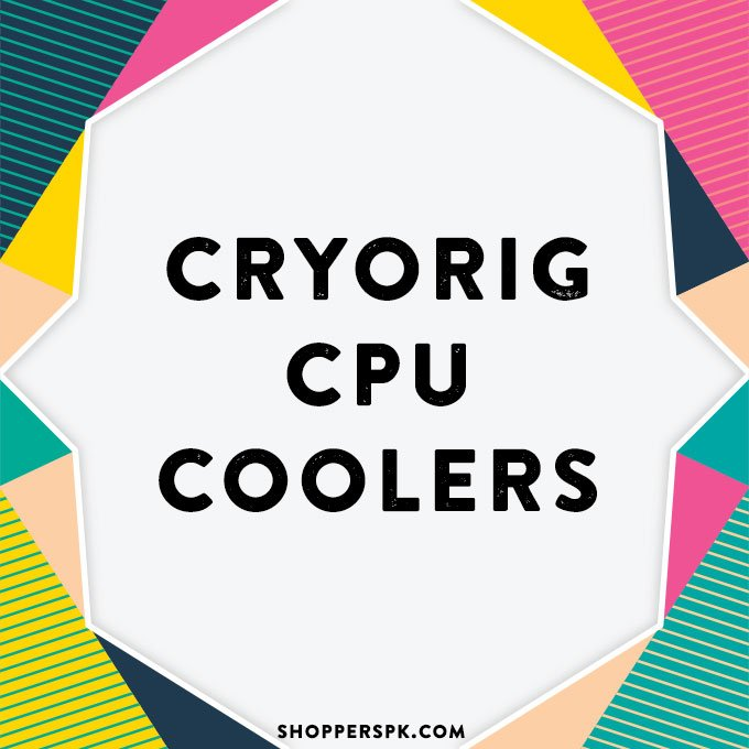 Cryorig CPU Coolers in Pakistan