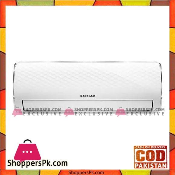 Ecostar Inverter Split Air Conditioner 1 Ton ES-12CR01W - Karachi Only