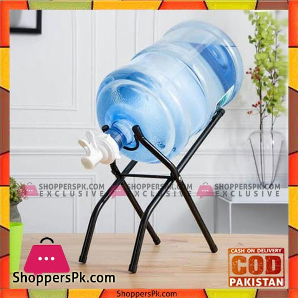 Foldable 5 Gallon Faucet with Floor Stand - Karachi Only