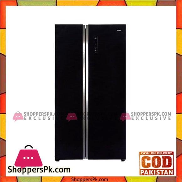 Haier Side-by-Side Refrigerator (HRF-618BG) - Karachi Only