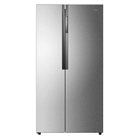 Haier Side-By-Side Refrigerator - 495 L - Silver HRF-618SS - Karachi Only