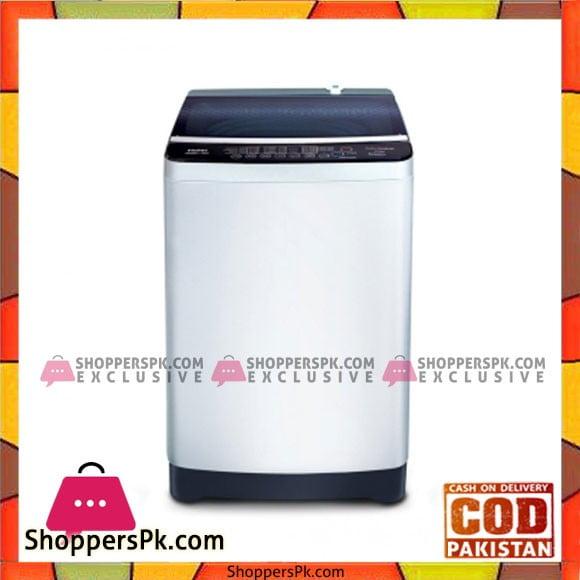 Haier Top Load Fully Automatic Washing Machine 8kg Black (HWM 80-118) - Karachi Only