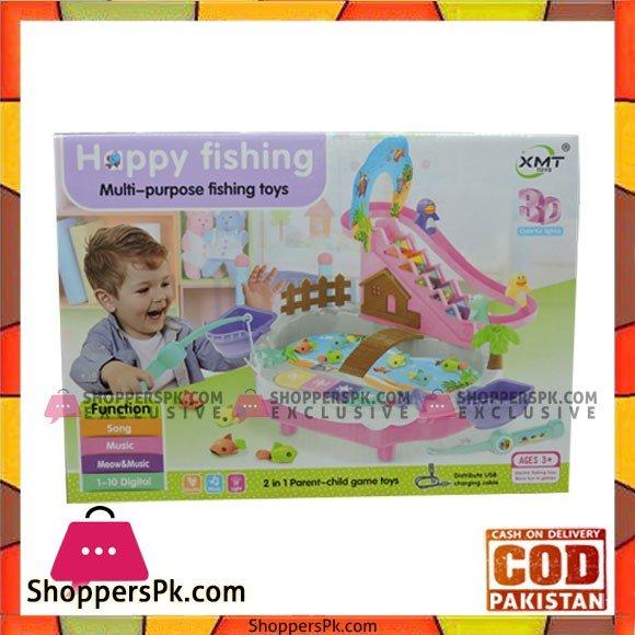 Happy Fishing Multi Purpose Fishing Toy