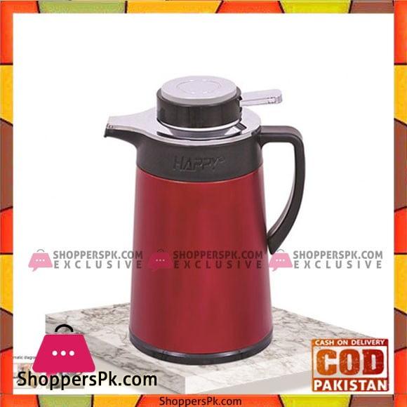 Happy Handsome Hybrid Vacuum Flask Coffee Pot (1-Pcs) - Karachi Only