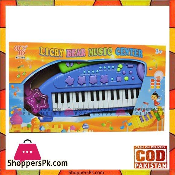 Kids Happy Licry Bear Music Center