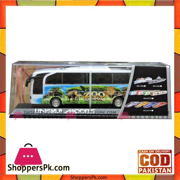 Kids Happy Zoo Bus