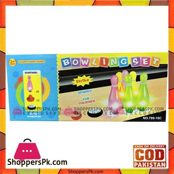 Happy Kids Bowling Set