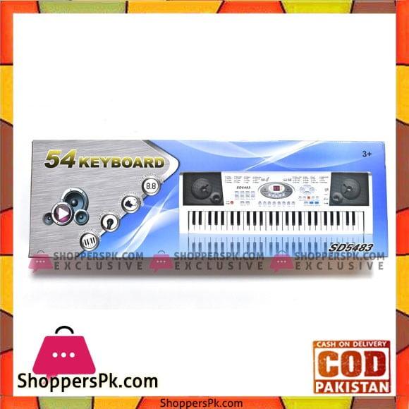 High Quality Electronic Keyboard Model-5438
