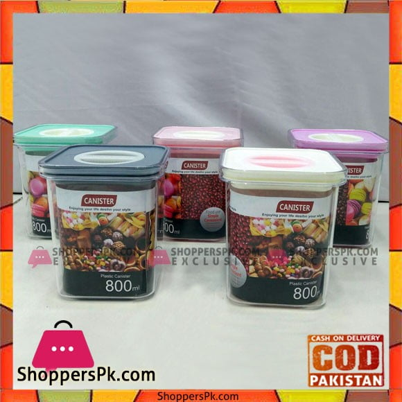 High Quality Plastic Canister 800ml