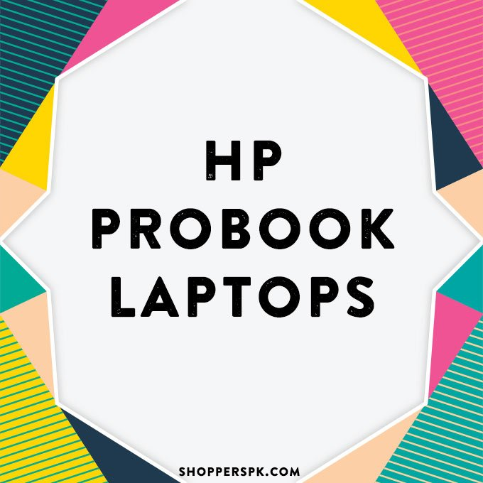 Hp Probook Laptops in Pakistan