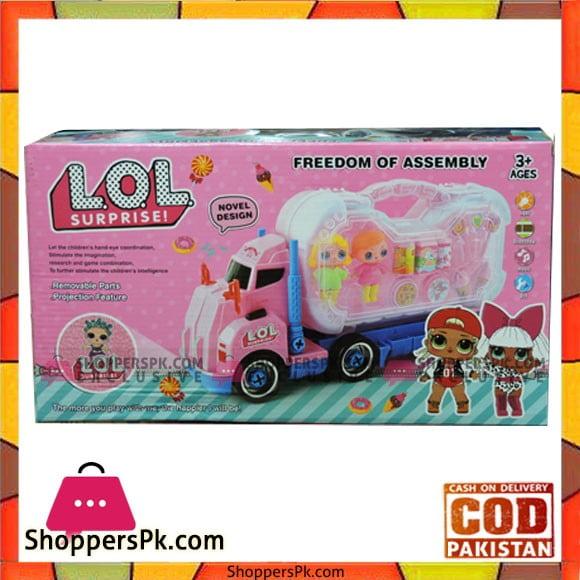 Kids Playing Truck