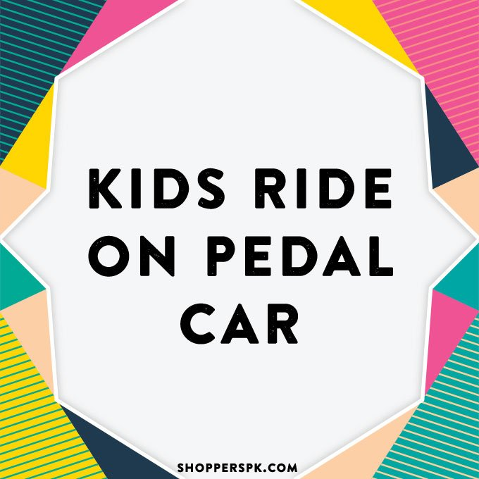 Kids Ride on Pedal Car