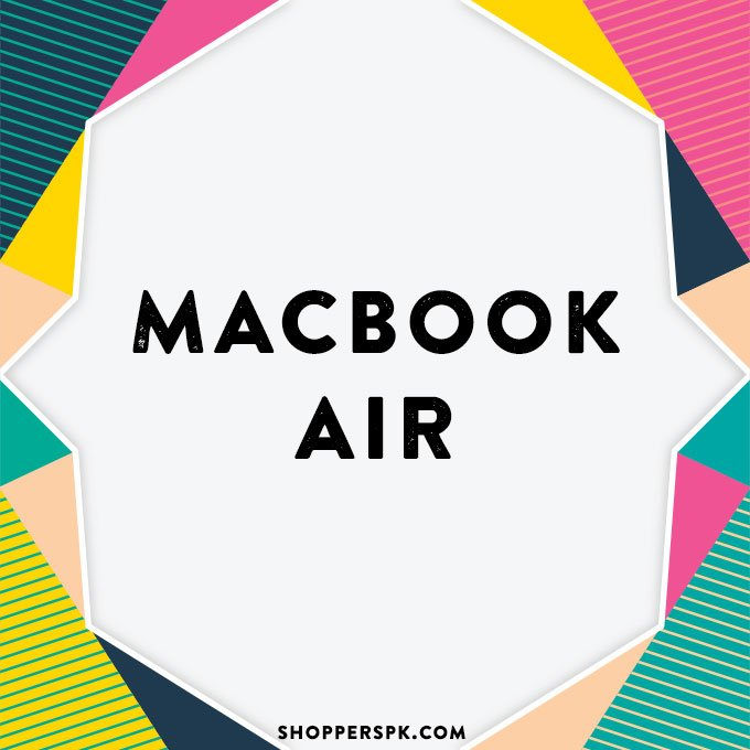 Macbook Air in Pakistan
