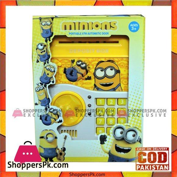 Minions Portable ATM Automatic Door