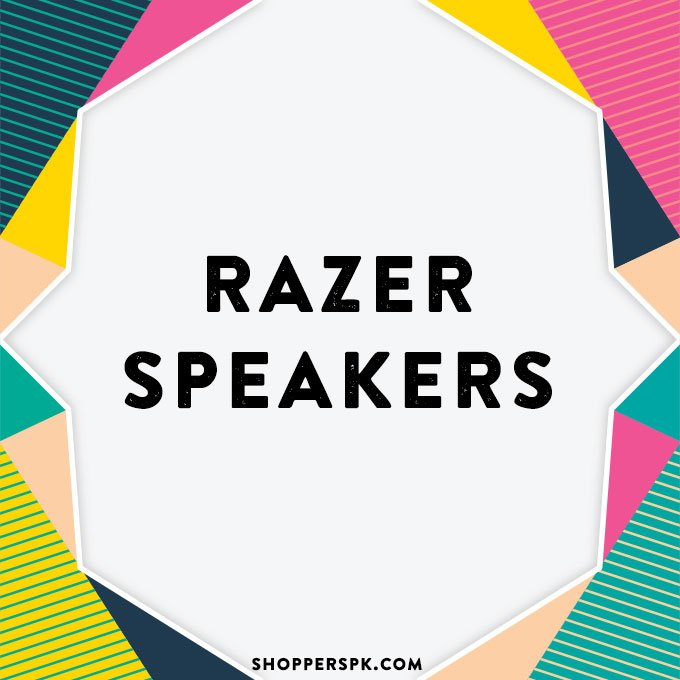 Razer Speakers in Pakistan