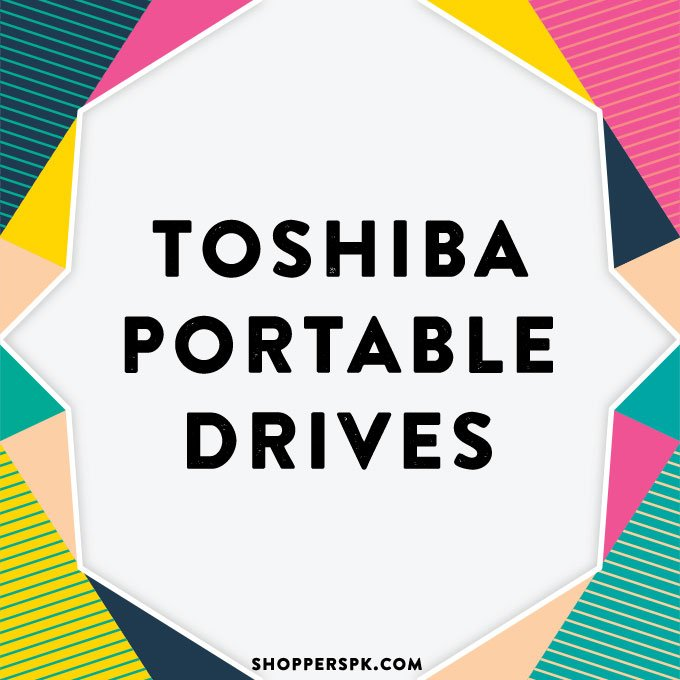 Toshiba Portable Drives in Pakistan