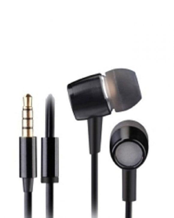 A4Tech MK-730 HD Metallic In-Ear Earphone (Black)