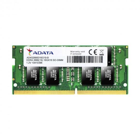 ADATA 16GB Premier DDR4 2666 SO-DIMM Memory Module AD4S2666316G19-R
