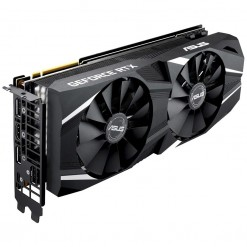 Asus DUAL-RTX2080-O8G Dual GeForce RTX™ 2080 OC Edition 8GB GDDR6 Graphics Card