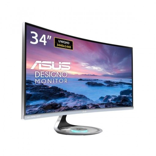"""Asus MX34VQ 34"""" Curved Widescreen"""