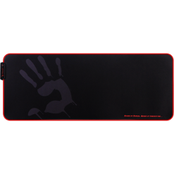 Bloody MP-80N Extended Roll-Up Fabric RGB Gaming Mouse Pad - Black