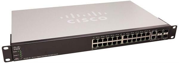Cisco SG500 28-port Gigabit Stackable Managed Switch