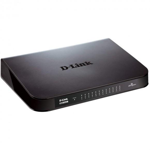 D-Link DGS-1024A 24-Port Unmanaged Gigabit Switch
