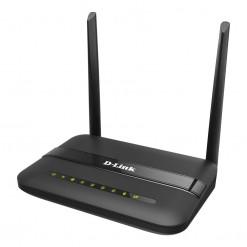 D-Link DSL-124 Wireless N 300 ADSL2+ 4-Port Router