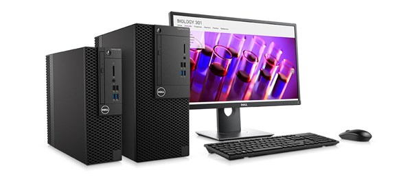 Optiplex 3050 Desktop - Secure, reliable and manageable.