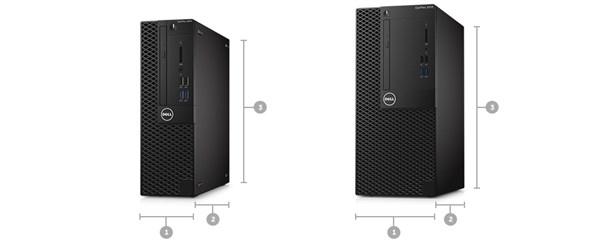 Optiplex 3050 Desktop - Dimensions & Weight