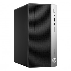 HP ProDesk 400 G5 Microtower PC - 8th Gen Ci3 (3-Year Warranty)