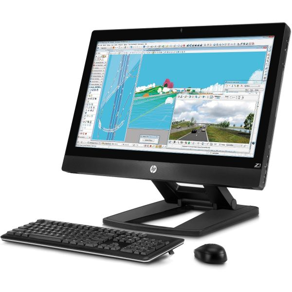 "HP Z1 Work Station Xeon E3 1200 8GB 1TB 27"""