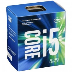 Intel Core i5 7400 7th Gen. 3.0GHZ 6MB Cache