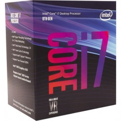 Intel Core i7 8700 8th Gen. 3.2GHZ 12MB Cache