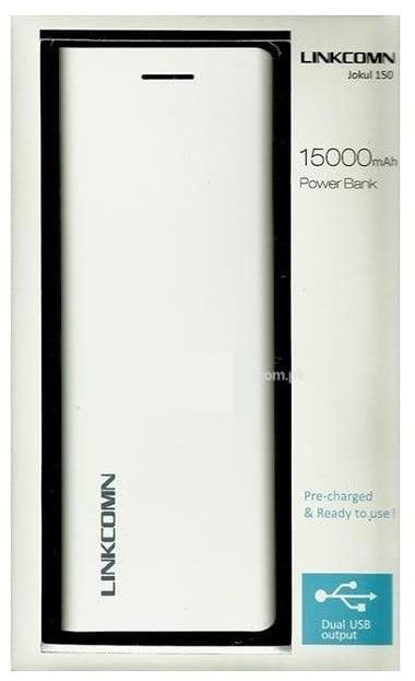 Linkcomn Jokul 15000 MAh Power Bank Jokul-150 White