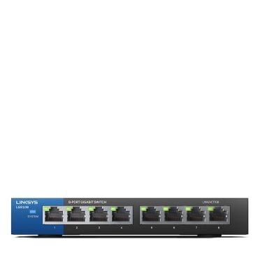 Linksys LGS108-08 Ports Unmanaged Desktop Switch
