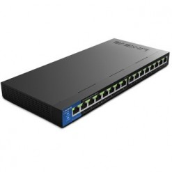 Linksys LGS116P 16-Port Business Desktop Gigabit PoE+ Switch