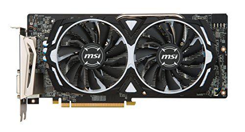 MSI AMD Radeon RX580 Armor 8GB OC