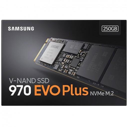 Samsung SSD 970 EVO PLUS NVME M.2 250GB - MZ-V7S250BW