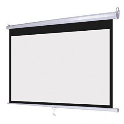 Screen 10'x6' Manual Wall Mount
