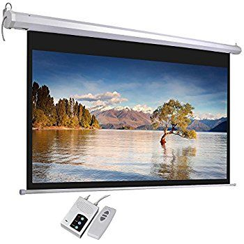 Screen 8'x6' Electric Wall Mount