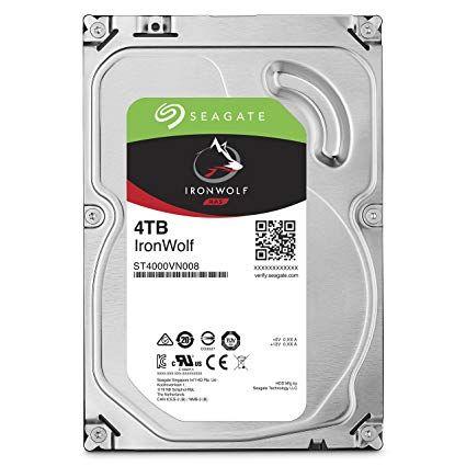 "Seagate 4TB 3.5"" IronWolf NAS HDD"