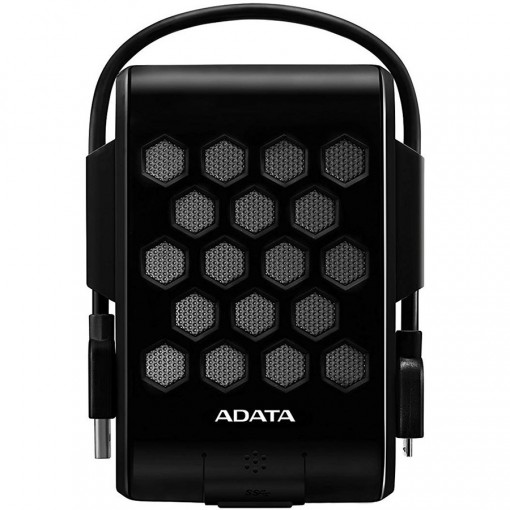 ADATA HD720 2TB USB 3.0 Waterproof/Dustproof/ Shock-Resistant External Hard Drive, Black, AHD720-2TU31-CBK