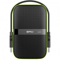 Silicon Power SP Rugged Armor A60 1TB Portable Hard Drive - SP010TBPHDA60S3K