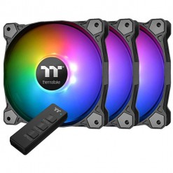 Thermaltake Pure 14 ARGB Sync Radiator Fan TT Premium Edition (3-Fan Pack) CL-F080-PL14SW-A