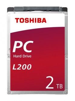 "Toshiba 2TB 2.5"" SATA Hard Drive"